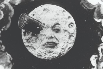 Georges Méliès 'A Trip to the moon (Le Voyage dans la lune)' 1902, Australian Centre for the Moving Image - still.