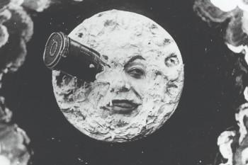 Georges Méliès 'A Trip to the moon (Le Voyage dans la lune)' 1902, Australian Centre for the Moving Image - still.