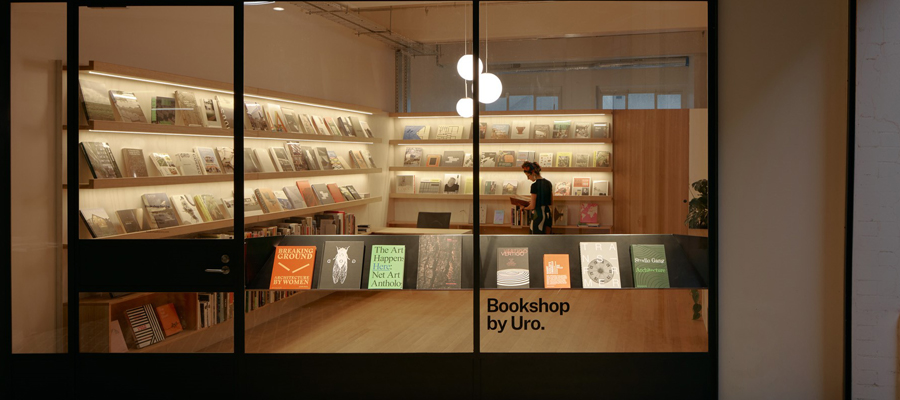 Retail front of Uro publications