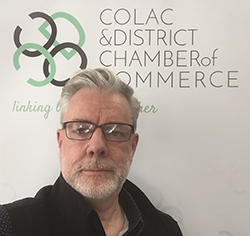 Mark Sherry, CEO of Colac Chamber of Commerce.